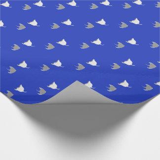 Cartoon Stingray Pattern Wrapping Paper