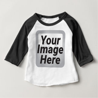 Cartoon Stork Bird Baby T-Shirt