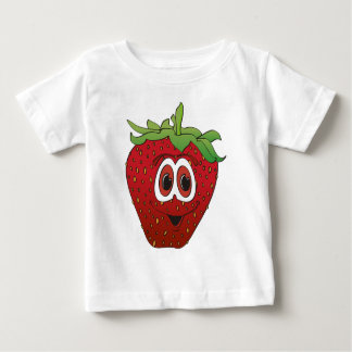 Cartoon Strawberry II Baby T-Shirt