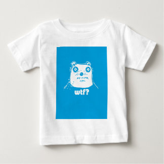 cartoon style blue bear baby T-Shirt