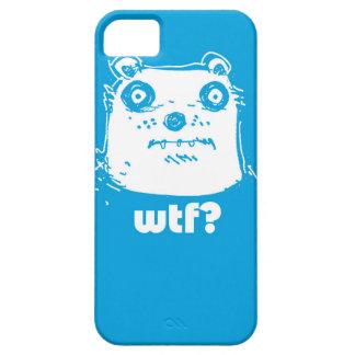 cartoon style blue bear iPhone 5 covers