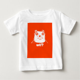 cartoon style illustration orange bear baby T-Shirt