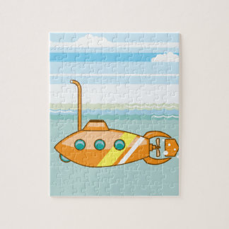 cartoon submarine jigsaw puzzle