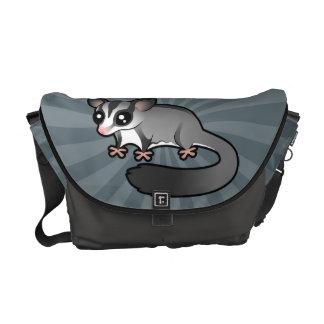 Cartoon Sugar Glider Courier Bag