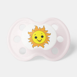 Cartoon Sun Happy Sunshine Pacifier