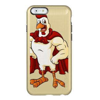 Cartoon super rooster posing incipio feather® shine iPhone 6 case