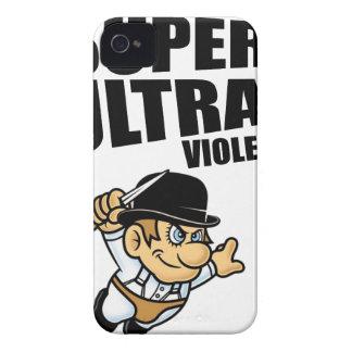 cartoon super Ultra violence Case-Mate iPhone 4 Case