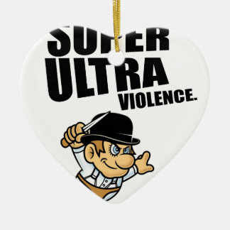 cartoon super Ultra violence Ceramic Ornament