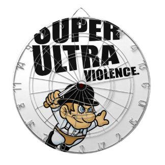 cartoon super Ultra violence Dartboard