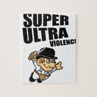 cartoon super Ultra violence Jigsaw Puzzle