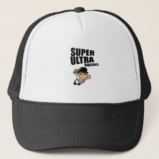 cartoon super Ultra violence Trucker Hat