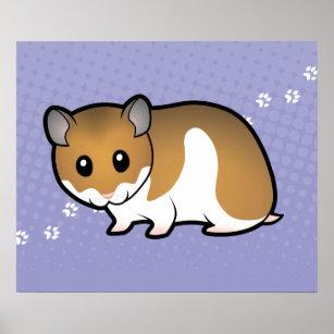 Hamster Tecknad