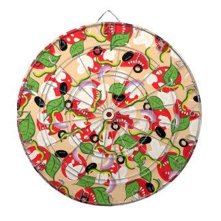 Cartoon Tasty Pizza2 Dartboard