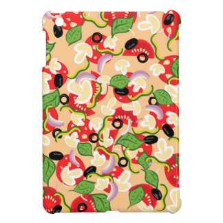 Cartoon Tasty Pizza2 iPad Mini Cases