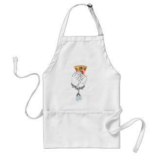 Cartoon Tasty Pizza and Hands2 Standard Apron
