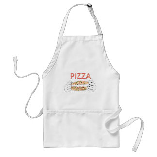 Cartoon Tasty Pizza and Hands3 Standard Apron