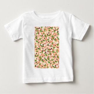 Cartoon Tasty Pizza Baby T-Shirt