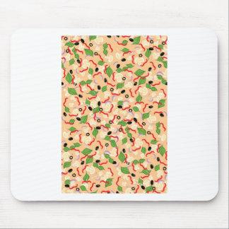 Cartoon Tasty Pizza Mouse Pad