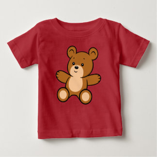 Cartoon Teddy Bear Baby T-Shirt