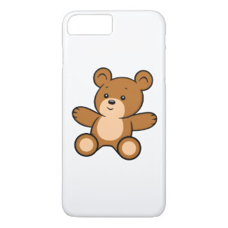 Cartoon Teddy Bear iPhone 8 Plus/7 Plus Case