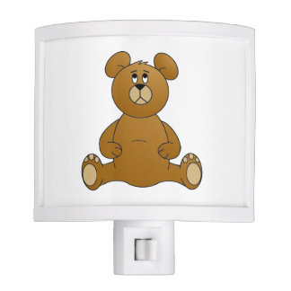 Cartoon Teddy Bear Night Light