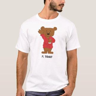 Cartoon Teddy Bear P Diddy Fan T-Shirt