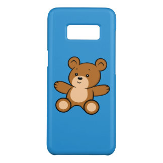 Cartoon Teddy Bear Samsung Galaxy S8 Case