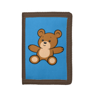Cartoon Teddy Bear Wallet