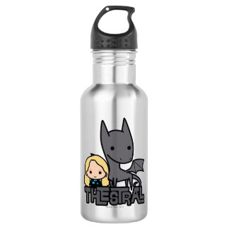Cartoon Thestral and Luna Character Art 532 Ml Water Bottle