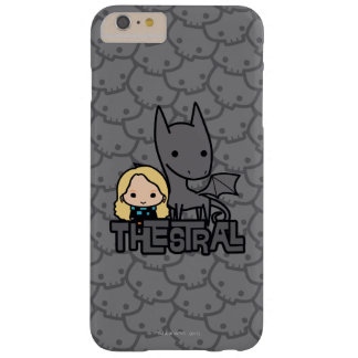 Cartoon Thestral and Luna Character Art Barely There iPhone 6 Plus Case