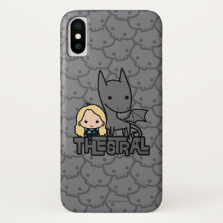 Cartoon Thestral and Luna Character Art Case-Mate iPhone Case