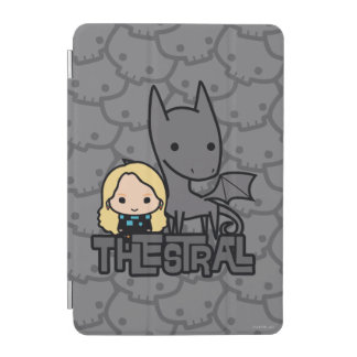 Cartoon Thestral and Luna Character Art iPad Mini Cover
