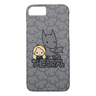 Cartoon Thestral and Luna Character Art iPhone 8/7 Case