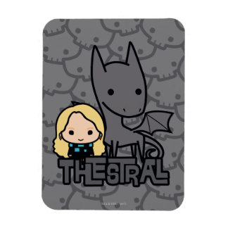 Cartoon Thestral and Luna Character Art Magnet