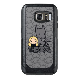 Cartoon Thestral and Luna Character Art OtterBox Samsung Galaxy S7 Case