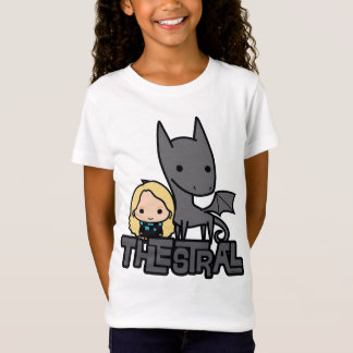 Cartoon Thestral and Luna Character Art T-Shirt