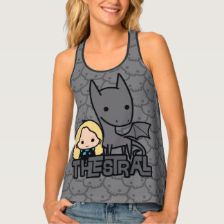 Cartoon Thestral and Luna Character Art Tank Top