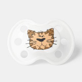 Cartoon Tiger Cat Pacifier