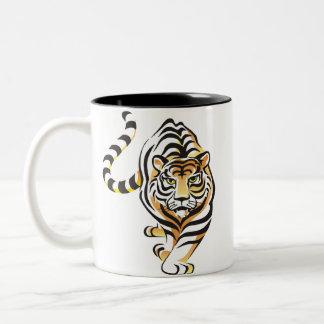 Cartoon Tiger Coffee Mug