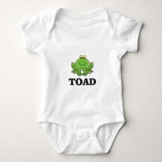 cartoon toad yeah baby bodysuit