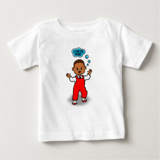 Cartoon Toddler Walking Baby T-Shirt