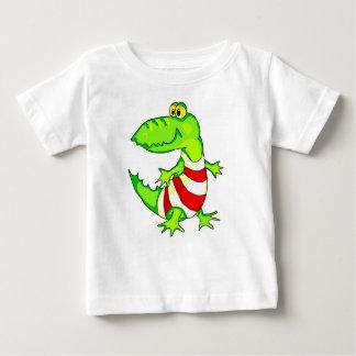 Cartoon Toy Alligator Baby T-Shirt