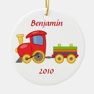 Cartoon Train Ornament