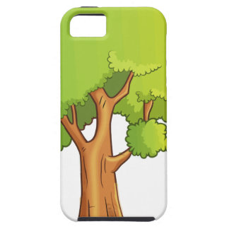 Cartoon Tree iPhone 5 Cases