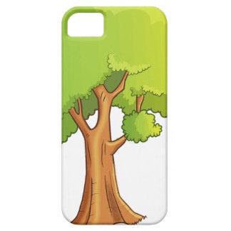 Cartoon Tree iPhone 5 Cover