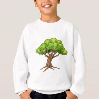 Cartoon Tree Sweatshirt