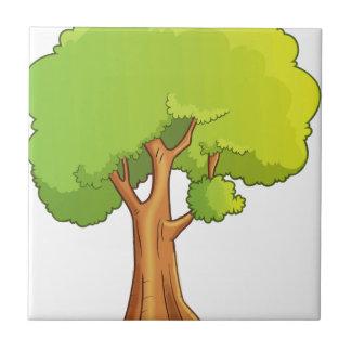 Cartoon Tree Tile