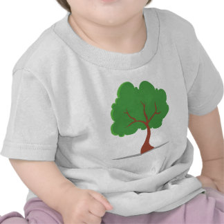 Cartoon Tree Tshirts