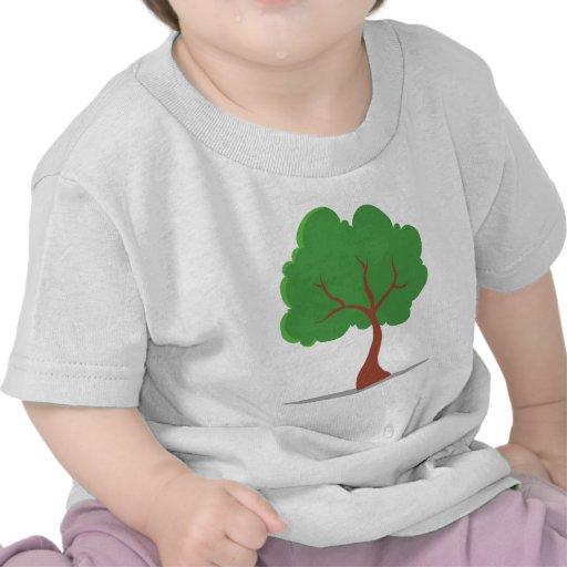 Cartoon Tree Tshirts