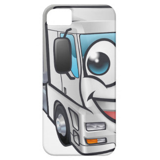 Cartoon Truck Lorry Transport Mascot Character iPhone 5 Covers